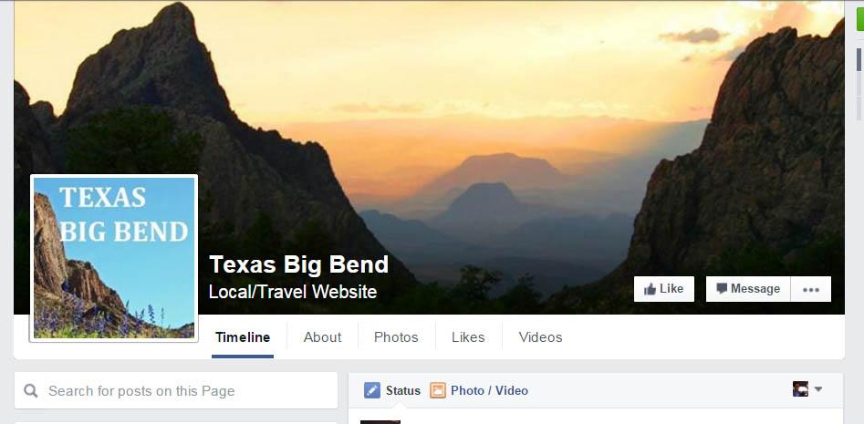 https://www.facebook.com/TexasBigBend/