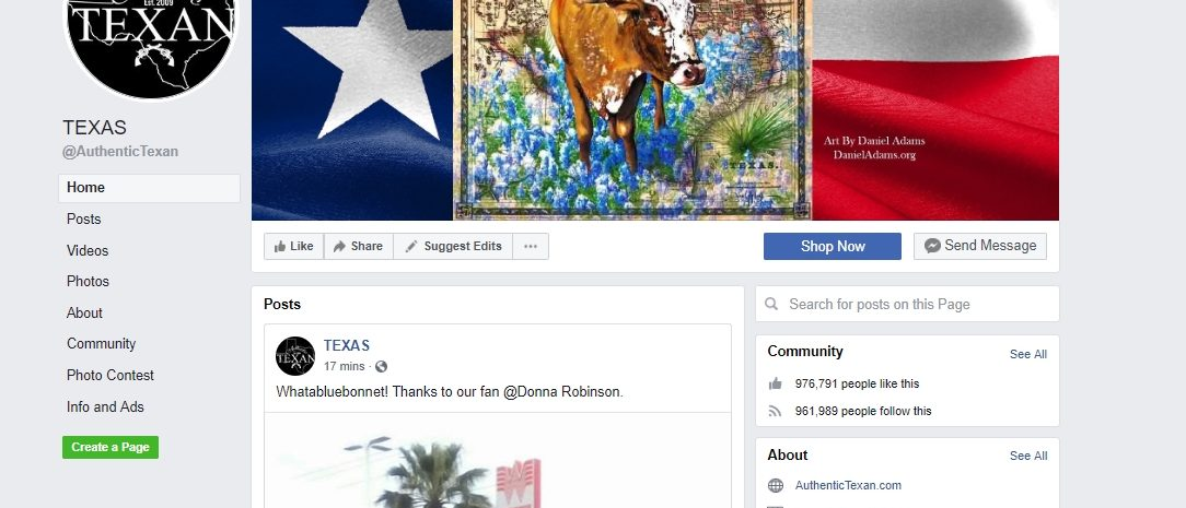 Facebook.com/AuthenticTexan