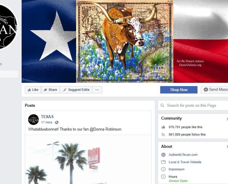 Facebook.com/AuthenticTexan