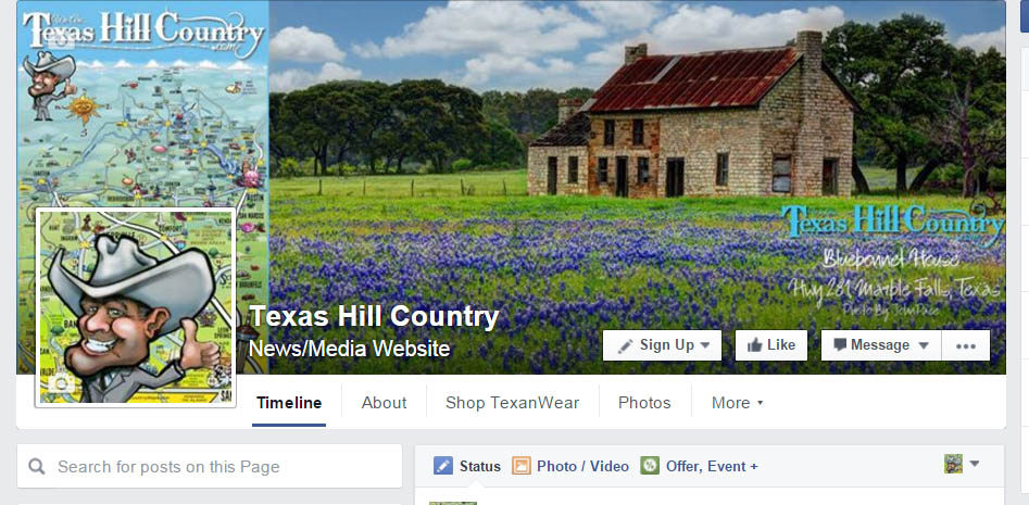 Facebook.com/Texashillcountry