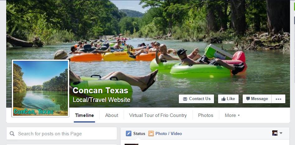 Facebook.Com/ConcanTexas